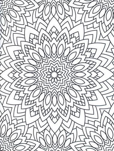 Creative Haven Mandala Madness Coloring Book (Creative Haven Coloring Books)