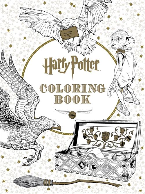 The Official Harry Potter Coloring Book #1