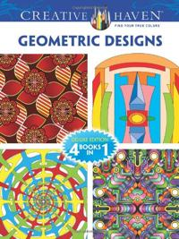 Geometric Designs (Creative Haven Coloring Books)