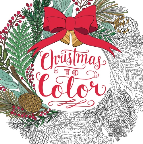 Christmas to Color Coloring Book