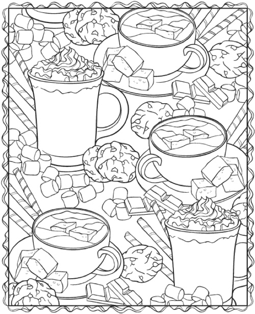 creative haven winterscapes coloring book - Creative Haven Coloring Books