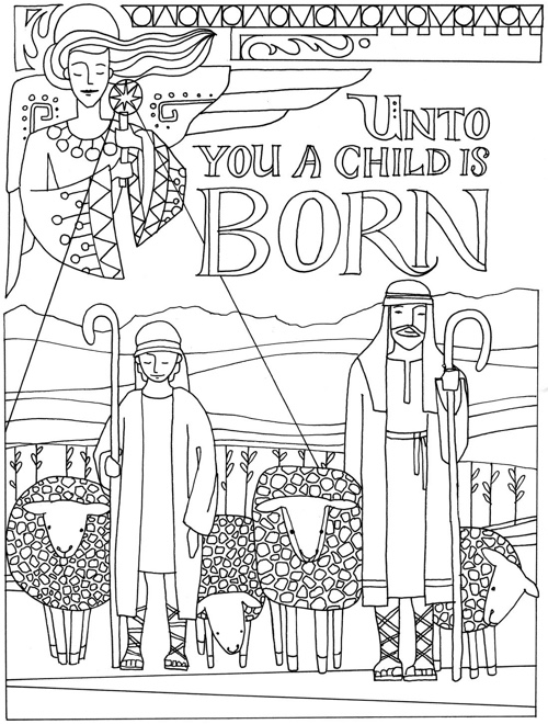 Design Originals: Christmas Traditions Coloring Book