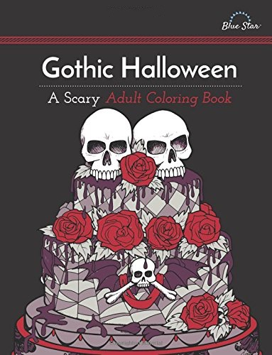 Scary Halloween Coloring Pages Adults : Best halloween coloring books for adults cleverpedia