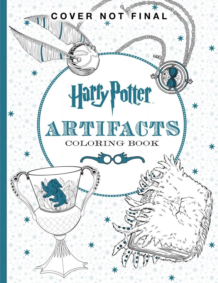 The Official Harry Potter Coloring Book 4 Artifacts