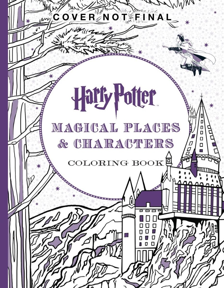 - Check Out The Official Harry Potter Coloring Books!