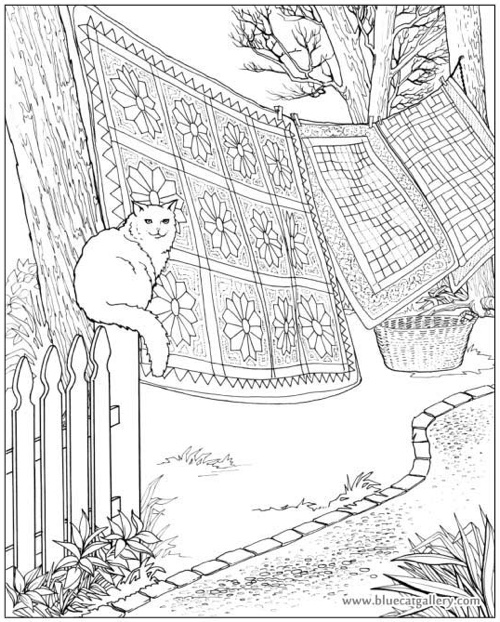 coloring pages for quilts - photo#18