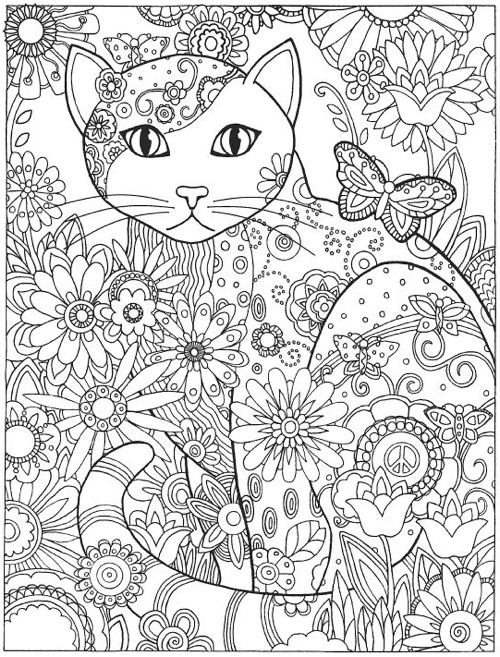 - Best Coloring Books For Cat Lovers - Cleverpedia
