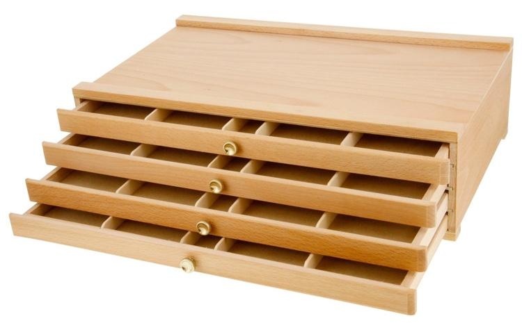 Wooden Pencil Box