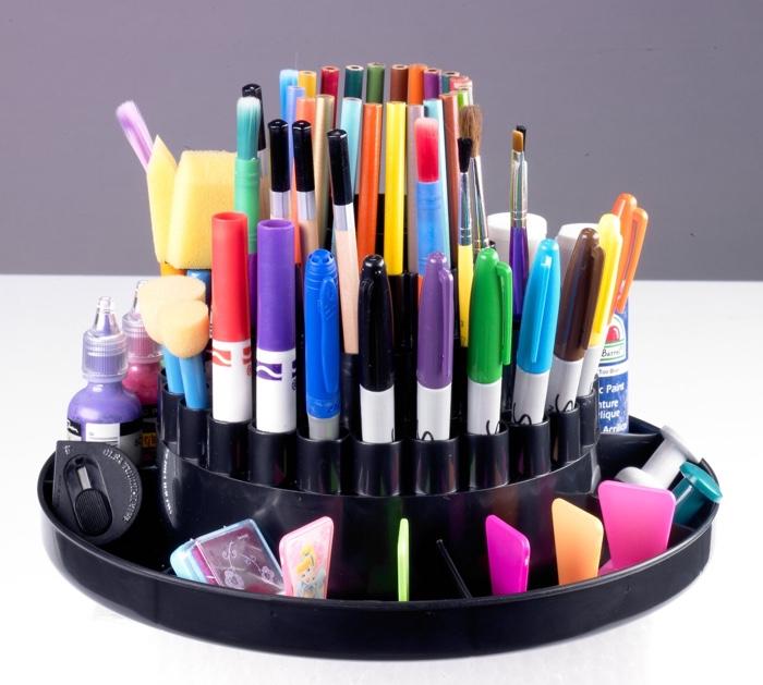 Colored Pencil Carousel
