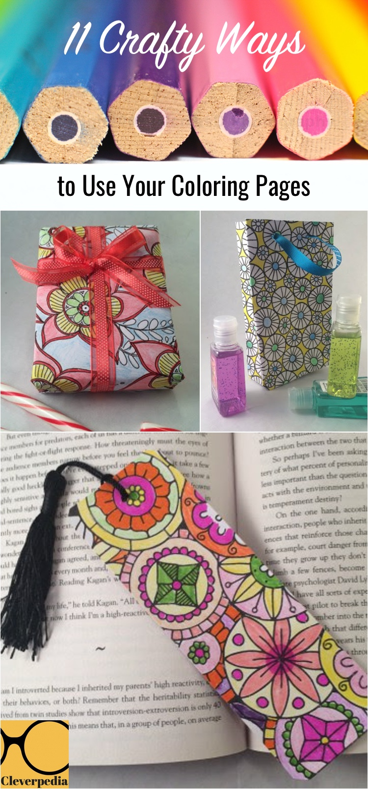 11 Crafty Ways to Use Your Coloring Pages