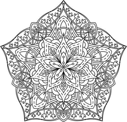 Mandala coloring books 20 of the best coloring books for for Adult coloring pages mandala