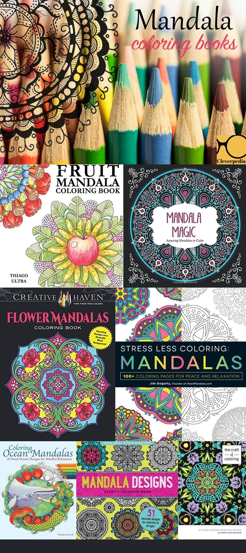Mandalas Are Probably The Most Stress Relieving Types Of Coloring Books Out There They