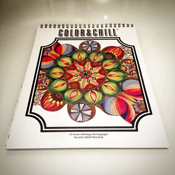 Color & Chill Coloring Book