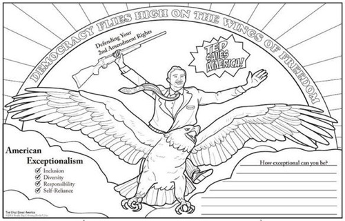 Color Your Own Politicians: Political Coloring Books for