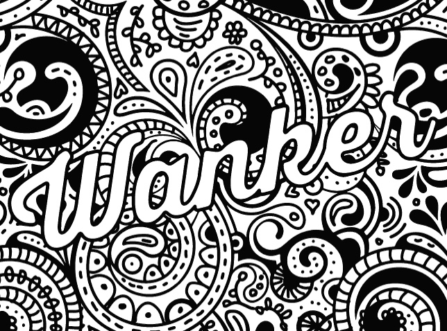 Sweary Coloring Book: 25 Amazing Designs featuring Sweary Words