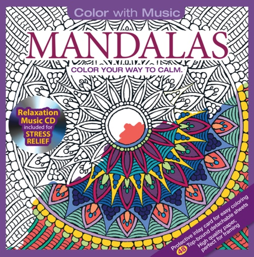 Color With Music: Mandalas
