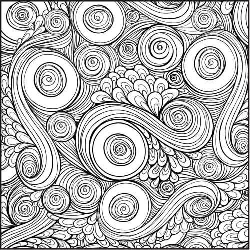 Color With Music: Patterns Shapes and Designs
