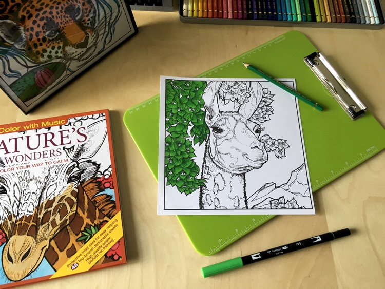 Cleverpedia & Color With Music Baker's Dozen Coloring Book Giveaway
