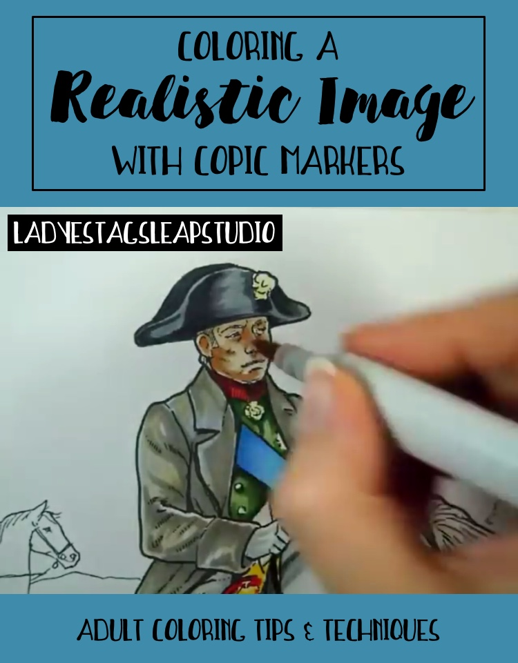 How to Color Realistic Images with Copic Markers