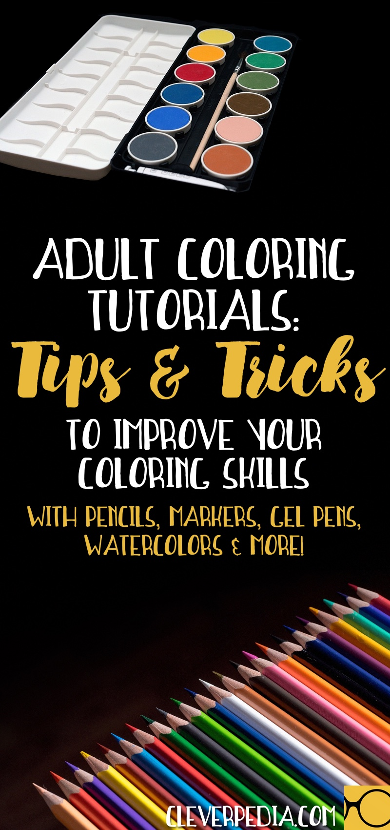 Adult Coloring Tutorials Tips Techniques To Improve Your Skills With Colored Pencils