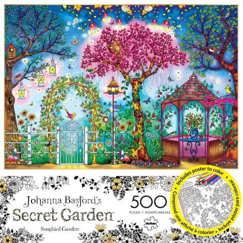 'Songbird Garden' 500 Piece Jigsaw Puzzle
