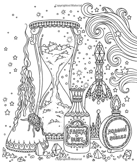 dawn coloring pages | Hottest New Coloring Books: March 2017 Roundup - Cleverpedia