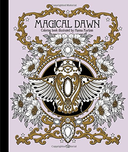 Magical Dawn Coloring Book (Published in Sweden as