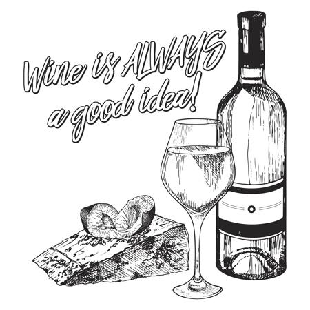 Wine Bottle Coloring Pages Miakenasnet