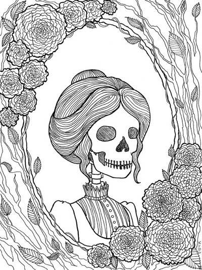 Best Halloween Coloring Books For Adults Cleverpedia