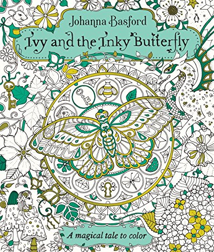 Ivy and the Inky Butterfly, Johanna Basford's upcoming coloring book!