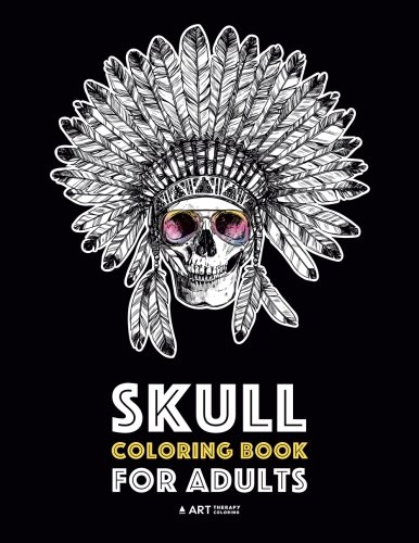 Skull Coloring Book for Adults: Detailed Designs for Stress Relief