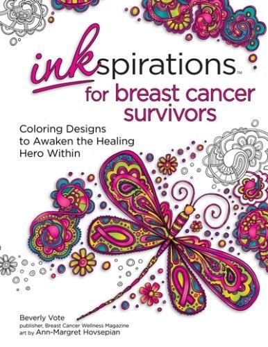Inkspirations for Breast Cancer Survivors is an adult coloring book celebrating the worthwhile fight. It is being released just in time for Breast Cancer Awareness Month!