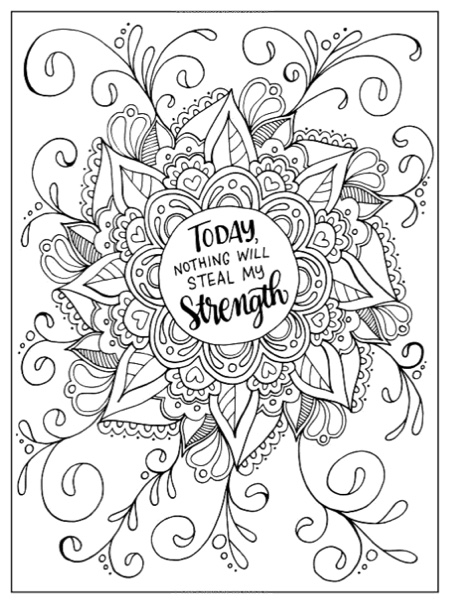 coloring pages for cancer awareness | Inkspirations for Breast Cancer Survivors Review ...