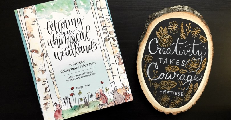 Lettering in the Whimsical Woodlands is a nature-inspired take on hand lettering with practice sheets and DIY projects you'll love! Enter today to win one of five prizes totaling over $100 in value!