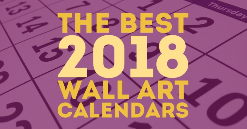 Wall art calendars are as elegant as they are practical. There's nothing like a piece of art to breathe life into a room, and with these calendars you get a new piece of art every month!