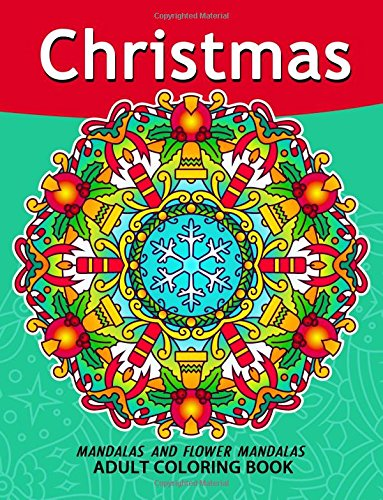 Christmas Mandala Adult Coloring Books