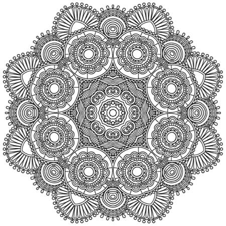 Adult Coloring Book: Beautiful Mandalas: For Serenity & Stress-Relief