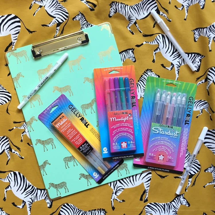 Grow your art supply collection with this great new giveaway! We're teaming up with Sakura of America to offer two great Gelly Roll gel pen prize packages, each with a coloring book!