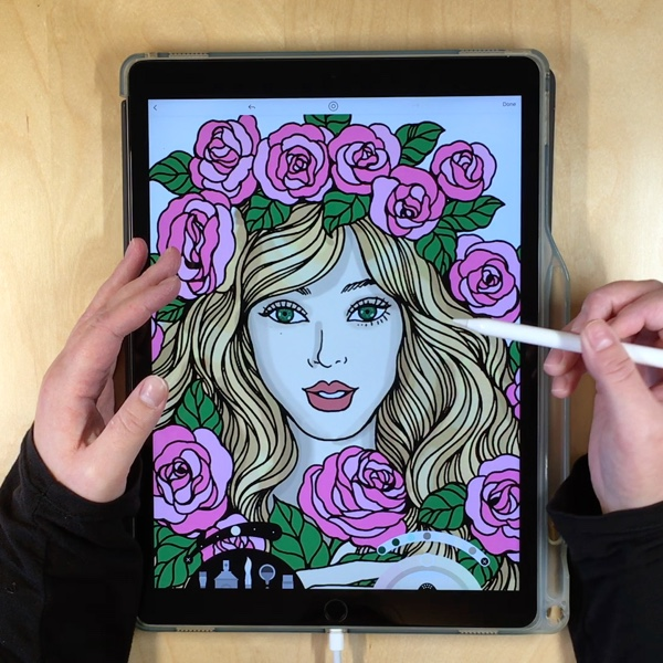 Lake is a beautifully-designed coloring app for iPhone and iPad. Learn more and win one of four free subscriptions in this detailed review!