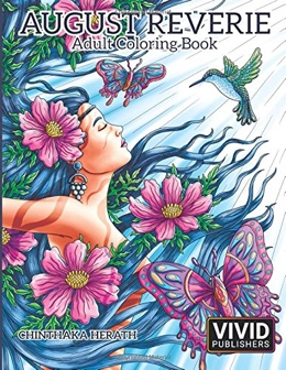 Featured new coloring book release: August Reverie by Chinthaka Herath