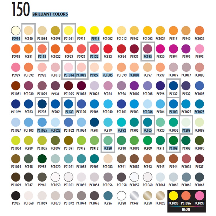 picture about Printable Prismacolor Color Chart identified as How toward Arrange Your Coloured Pencil Variety - Cleverpedia