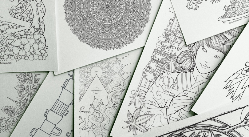 The 5 Best Online Coloring Sites for Adults | 445x810