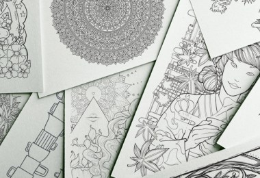 How to DIY coloring pages from a photo for your wedding reception ...   260x380