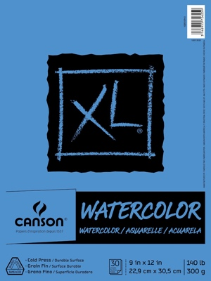 Want to color with watercolors or watercolor pencils? You'll get the best experience printing your coloring pages on actual watercolor paper, like this Canson paper. You may need to cut it down for some printers.