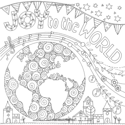Images of Joy: An Inspirational Coloring Book