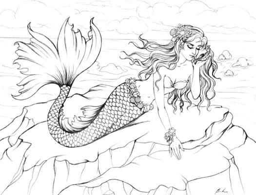 Mermaids: Sea of Enchantment by Barbara Lanza