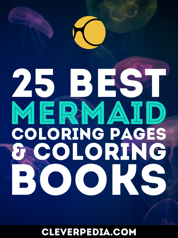 Discover the best mermaid-themed coloring books, along with a collection of beautiful mermaid coloring pages by Etsy artists!