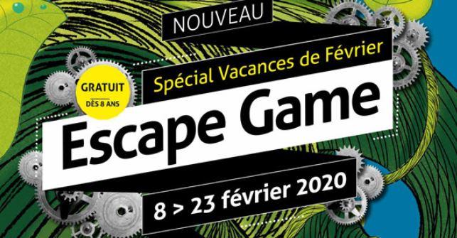 FEVRIER 2020 : Escape game de l'écomusée