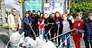 Opération nettoyage à Gentilly le 11-03-20