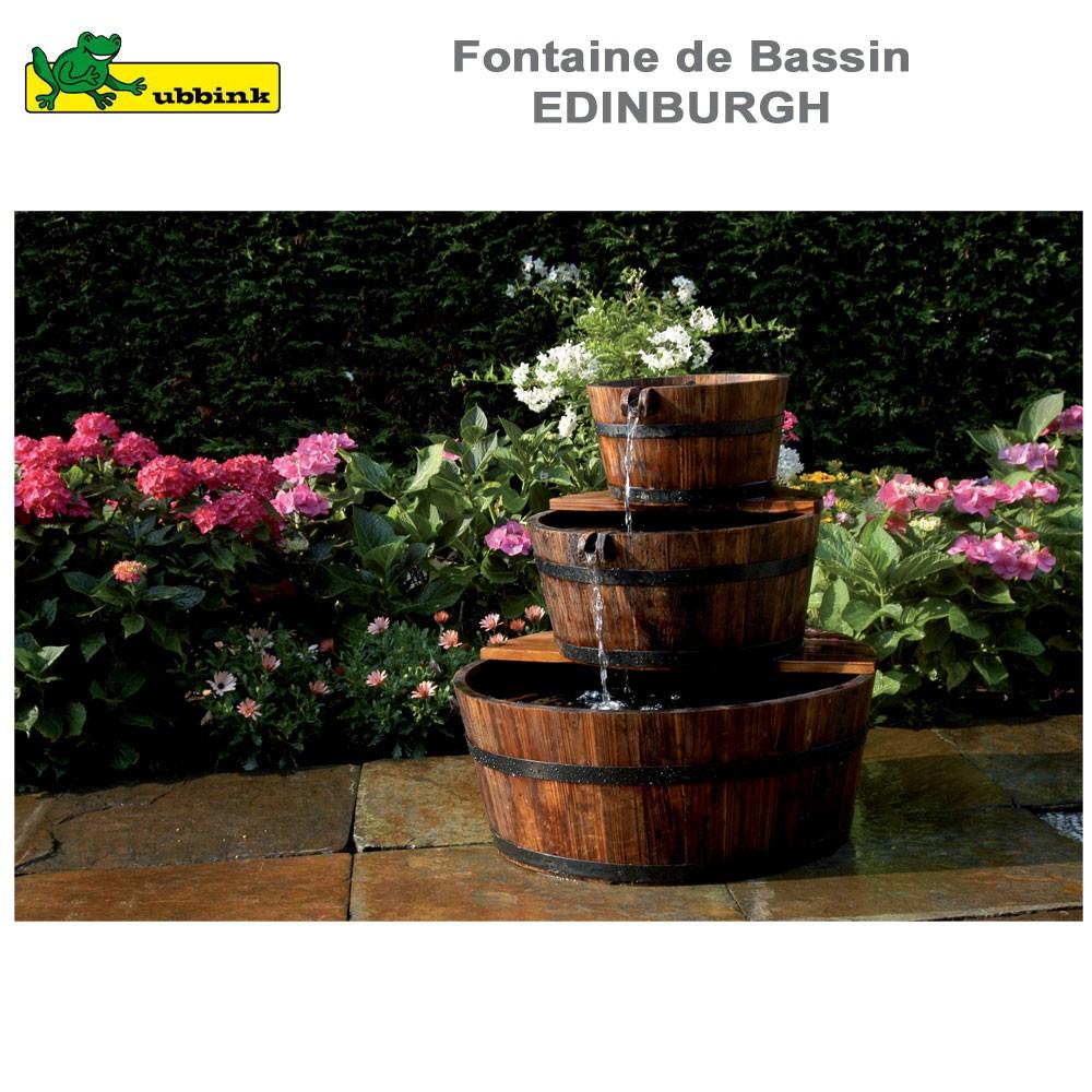 fontaine de jardin en bois complete edinburgh